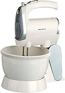 Frigidaire Hand Mixer with Rotating Bowl - FD5122, 1 Year Warranty