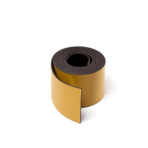 MTS Magnete Magnetisches Band für Schilder, zum Zuschneiden, 30mm breit gelb