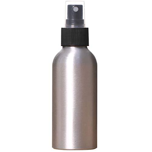 Ruluti 100ml De Aluminio Aspersión Recargables Botella Botellas Vacías De La Bomba Cosmético del Recorrido Envases Vacíos Atomizador Packaging Tool