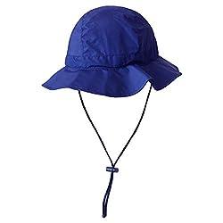 Angelmütze Wasserdicht für Herren Damen Sonnenhut Ultra Lite Outdoor Wandern Camping, blau, Large