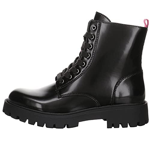Tommy Hilfiger Mädchen Boots Lace Up Bootie schwarz Gr. 38