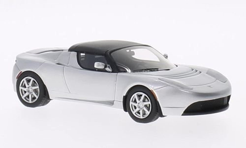 Tesla Roadster, Silber, Model Car, Ready-made, Schuco   Pro.R 1 43 by Schuco   Pro.R