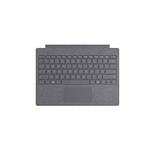 Microsoft Surface Pro Type Cover (QWERTY Keyboard) Platin Grau
