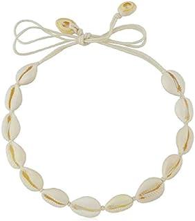 SUNSCSC Handmade Summer Beach Shell Conch White Velvet...