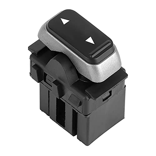 ZHANGJIN Interruptor de la Ventana de alimentación de un Solo botón Frente/Trasero 3W1Z14529AA Ajuste para Lincoln Town 2003-2008