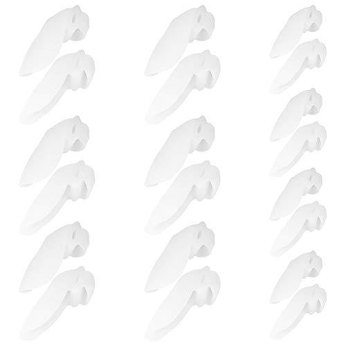 10 pares de productos para el cuidado de la salud de alta calidad, corrigen y restauran la forma del dedo gordo del pie