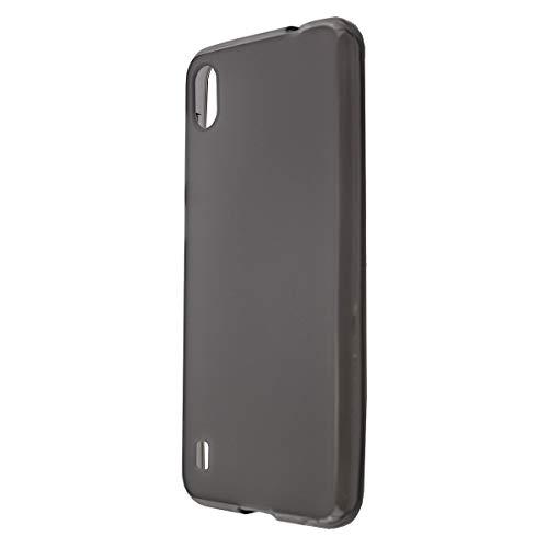 caseroxx TPU-Hülle für ZTE Blade A530, Handy Hülle Tasche (TPU-Hülle in schwarz-transparent)