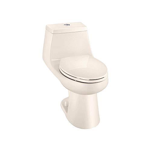 Glacier Bay Dual Flush One-Piece Elongated Toilet