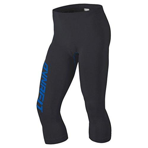 Dynafit Homme Performance DryArn Collant 3/4 pour Homme, Homme, Performance Dryarn 3/4 Tights, Asphalt 1/8530