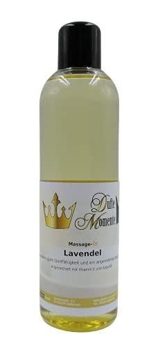 Dufte Momente Massage Öl 250ml / ohne Paraffin und künstliche Zusätze / auch für den professionellen Anwender geeignet (Lavendel)