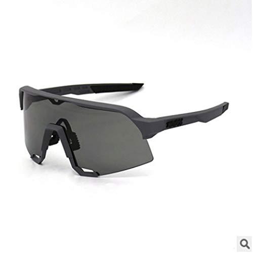 LQIAN S3 Outdoor sportspiegel gepolariseerde fietsbril voorruit 100% S3 pak half montuur bril zonnebril