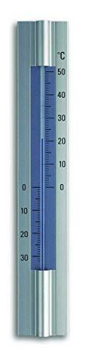 TFA Dostmann Analoges Innen-Außen-Thermometer, 12.2045, aus Aluminum