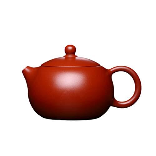 UPKOCH Lila Ton Teekanne Chinesische Yixing Xishi Hu Gongfu Teekanne Retro Handgemachte Tieguanyin Puer Wasserglas für Neujahrsgeschenk