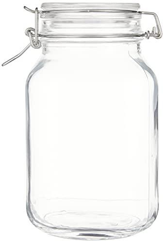 Bügelverschlussglas Fido mit Glasdeckel - Füllmenge: 2 Liter - 1 Stück
