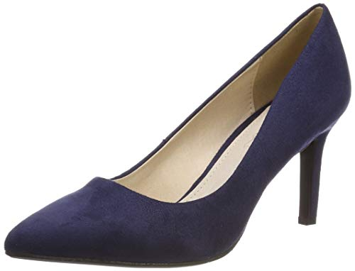 Buffalo Damen Alivia Pumps, Blau (Navy 000), 41 EU