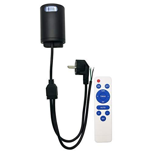 Rugging Interruptor crepuscular, sensor de luminosidad, sensor crepuscular, 230 V, 2000 W, IP66, controla varias luces LED exteriores y dispositivos de riego de jardín