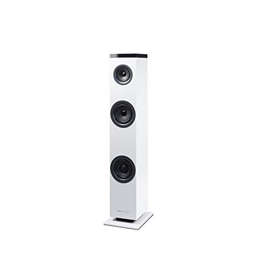 Energy Sistem Tower 1 (Torre de Sonido Bluetooth 4.1, 30 W Potencia, RCA, 3,5 mm Audio-in) - Blanca