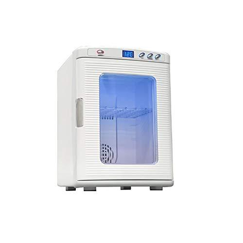 Frigo RéFrigéRateur Congelateur Glaciere Affichage de chauffage 25L armoire à boissons / 12-240V / réfrigérateur de voiture / mini petit réfrigérateur / voiture de réfrigération maison chauffage doubl