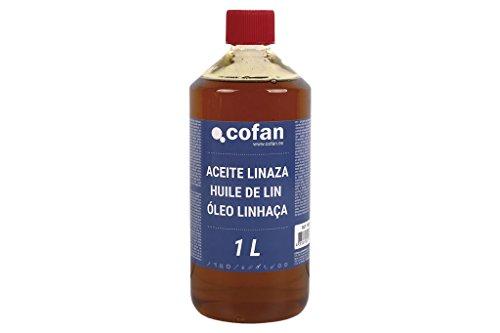 Cofan 15801032 Aceite linaza, 1 L
