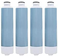 Replacement Water Filter Cartridge for Samsung Refrigerator Models RF261BEAESR/AA / RF28HFEDTSR/AA (4 Pack)