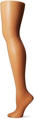 L'eggs Women's Sheer Energy 2 Pair Control Top Sheer Toe Medium Support Panty Hose, Suntan, Q