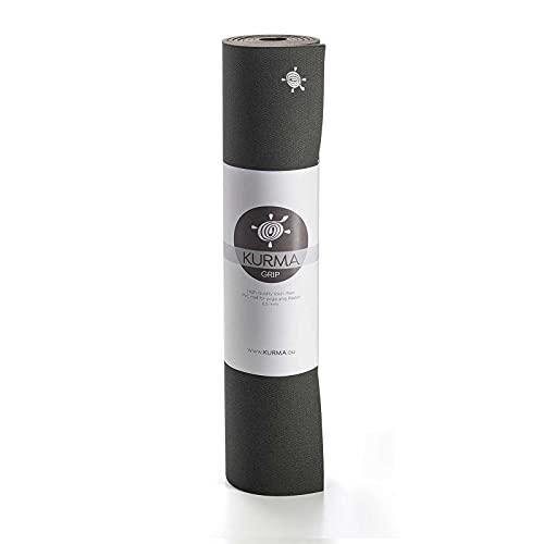Yogamatte KURMA Black Grip, L: 200 cm/B: 100 cm/H: 0.65 cm