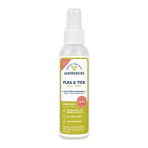 Wondercide Natural Flea & Tick Control for Pets Home - Cedar & Lemongrass - 4 oz