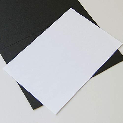 100 naturweiße Einlegeblätter 16,3 x 11,2 cm, Munken Lynx 90 g/qm (für Klappkarten 16,5 x 11,5 cm)