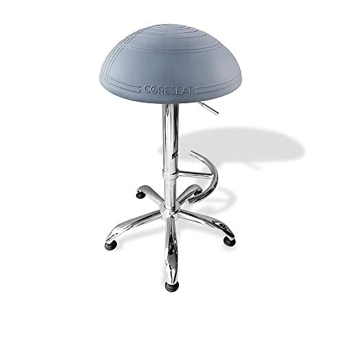 Ergonomic Balance Ball Standing Chair SIT STAND LEAN - Ultimate Standing Desk Solution, Fit Ball Chair | Ergonomic Exercise Office Chair Provides Stability & Core Strength Home, 3 YEAR WARRANTY