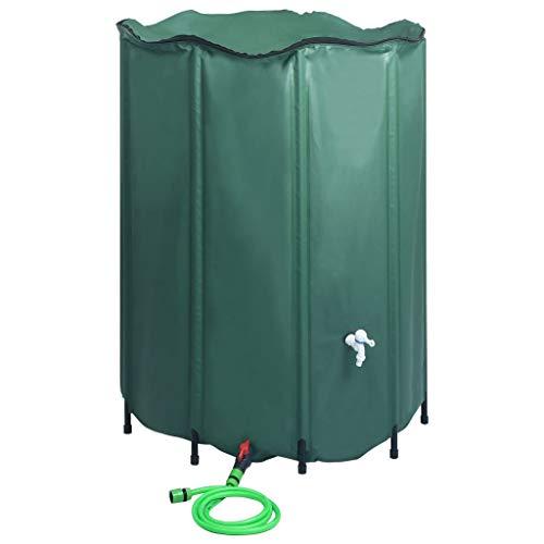 Festnight Réservoir d'eau de Pluie Pliable Baril Pliable d'eau avec Robinet 1250 L