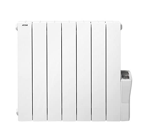 Radiateur à Fluides Caloporteurs Acova Atoll TAX LCD 1000 W - Blanc