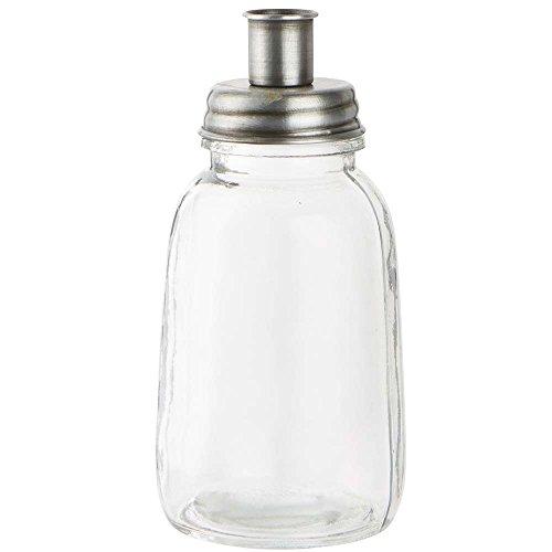 IB Laursen - Stabkerzenhalter/Kerzenhalter - Glas - Metalldeckel