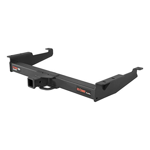 CURT 15320 Xtra Duty Class 5 Trailer Hitch, 2-In Receiver, Compatible with Select Chevrolet Express, GMC Savana