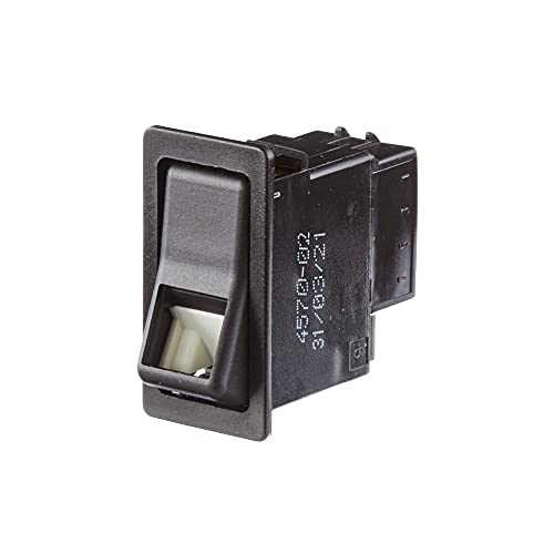HELLA 6EH 004 570-021 Interruptor - Accionamiento por interruptor basculante - Var. equipamiento: I-0 - Número de conexiones: 4 - con función de confort