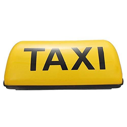 BAAQII Taxi Dach Wasserdichte Zeichen Magnetic Taxameter Cab Top Lampe 12 V DC Gelbes Licht