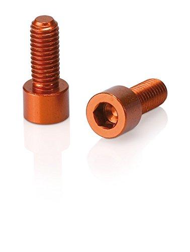 XLC Zubehör Schrauben für Trinkflaschenhalter, Orange, 10x10x5cm