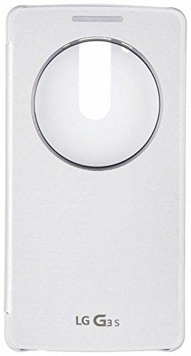 LG Quick Circle - Funda para LG G3 S, color blanco