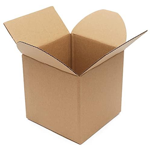 6X6X6인치 소형 선적 박스 번들   30 선적용 소형 골판지 상자 소상공인용 소형 포장 상자 우편함 선물 상자 우편함 크래프트 박스