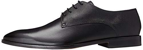 find. Zapato de Cordones Piel Grabada para Hombre, Negro (Black), 43 EU