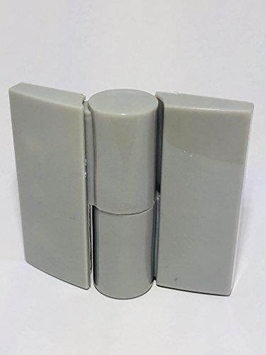 CABSAN automatische band, rechts, trekkoord van nylon, serie 1, voor sanitaire cabines met vouwdeur, kleur grijs RAL 7038