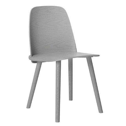 Muuto Nerd Chair by David Geckeler grey silla gris 11213