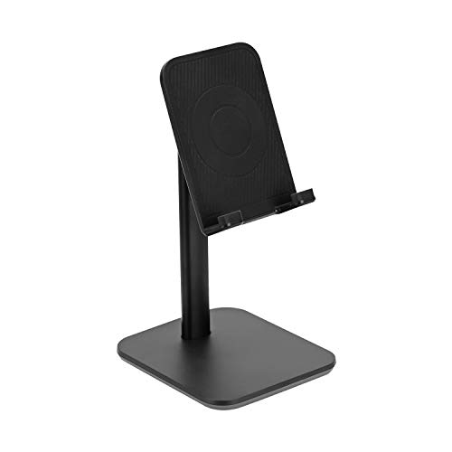 DUTTY Phone&tablet holder, suitable for all mobile phone types and tablet within 9.7 inches, including but not limited toPhone 11 Pro, XR, 8 Plus 7 6, Samsung Galaxy,and so on
