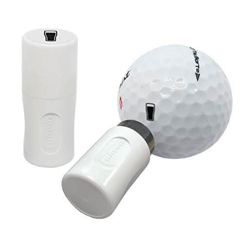 Asbri Golf Sello de Bola, Negro, Cristal de Pinta