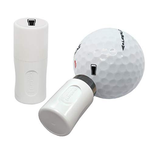 Asbri - Timbro per Palla da Golf, Colore: Nero, Pinta