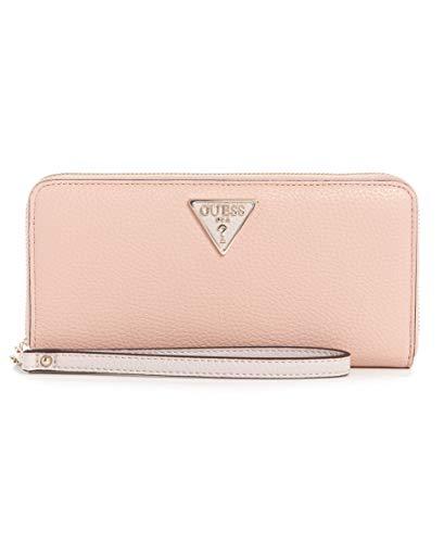 Guess SLG Large Zip Around Wallet Blush Multi