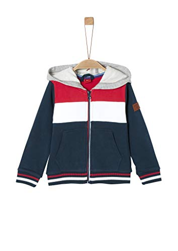 s.Oliver Junior Jungen 404.10.002.14.150.2020536 Sweatshirt, Dark Blue, 116/122/REG