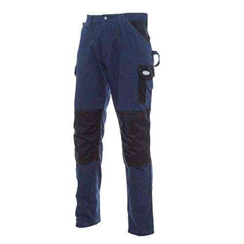 Bricobravo Pantaloni da Lavoro Traspiranti Pantalone Anti Strappo con Tasche Laterali Taglia S