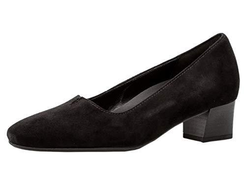 Gabor Damen Pumps 32.231, Frauen Trotteur,Court-Shoes,Absatzschuhe,Abendschuhe,Stöckelschuhe,schwarz,38.5 EU / 5.5 UK