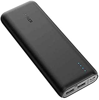 Anker Power Core 15600 mAh-2 ports Power Bank for Mobile Phones, with IQ charging- model A 1252H11 -black