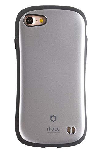 iFace First Class Metallic iPhone SE 2020 第2世代/8/7 ケース 耐衝撃 [シルバー]
